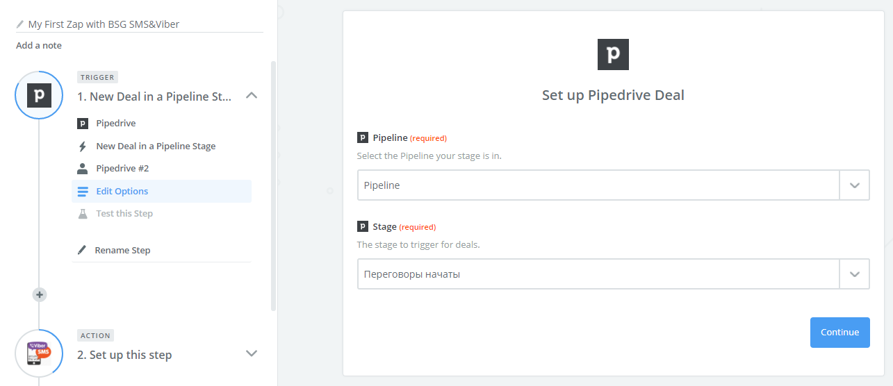 PipeDrive & Zapier Integration Instruction